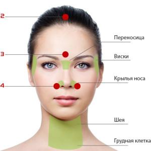 Расположение точек акупрессуры на теле человека